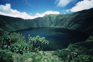 Hiking Bisoke Volcano